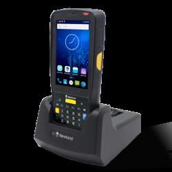 Duomenų kaupiklis Newland MT6552 2D, BT, WIFI, 4G, kamera, su lopšiu.